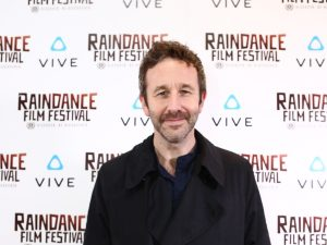"Chris O'Dowd at the premiere of his ""The Evolution of Testicles"""