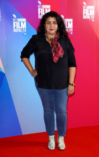 "Director Sudabeh Mortezai at the Premiere of ""Joy"" at BFI London Film Festival on October 16, 2018 in London, England. Photo Courtesy of: Tim P. Whitby/Getty Images Europe"