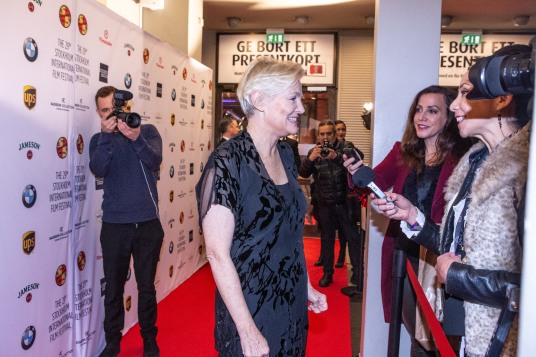 Mary Harron at the 29th Stockholm International Film Festival; Photo Courtesy of: stockholmfilmfestival.se and Katriina Mäkinen.